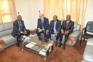 Signature officielle du CSEAS Bamako 2017